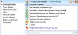 Clipboard Master Jumping Bytes Software screenshot