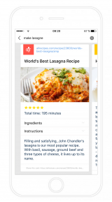 Cliqz for iOS screenshot