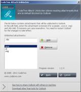 CodeTwo Attach Unblocker screenshot