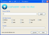 Convert VOB to AVI screenshot