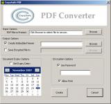 Copysafe PDF Converter screenshot