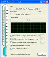 CPU Thermometer screenshot