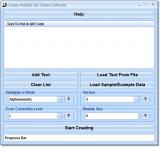 Create Multiple QR Codes Software screenshot