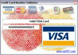 Credit Card Number Validator screenshot