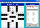 Crossword FillIns screenshot