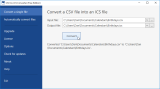 CSV-to-ICS Converter screenshot