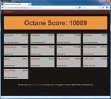 Cyberfox screenshot