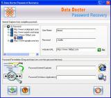 Data Doctor Password Recovery screenshot