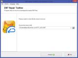 DBF Repair Toolbox screenshot