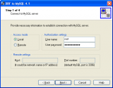 DBF-to-MySQL screenshot