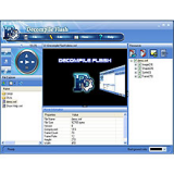 Decompile Flash screenshot