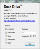 Desk Drive screenshot