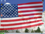 Desktop Flag 3D screenshot