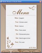 DinnerWiz screenshot