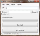 Download Accelerator screenshot