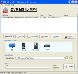 DVR-MS to MP4 screenshot