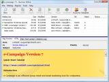 e-Campaign Business Edition screenshot