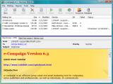 e-Campaign Standard Edition screenshot