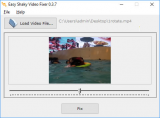 Easy Shaky Video Fixer screenshot