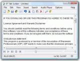 EF Talk Scriber Portable screenshot