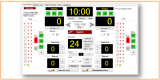 Eguasoft Basketball Scoreboard screenshot