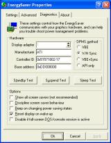 EnergySaver screenshot