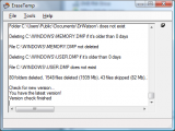 EraseTemp screenshot
