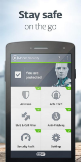 ESET Mobile Security & Antivirus screenshot