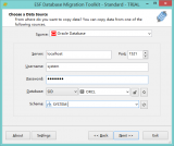 ESF Database Migration Toolkit Standard screenshot