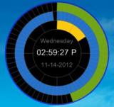 Eusing Clock screenshot