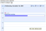 Event Calendar Plus screenshot