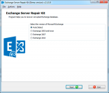 Exchange Server Repair Kit screenshot