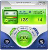 EyeProtectorPro screenshot