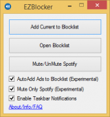 EZBlocker screenshot