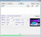 Fast MP4 3GP AVI MPG WMV RM MOV FLV Converter screenshot