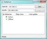 FastIpScan screenshot