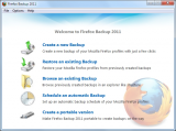 Firefox Backup screenshot