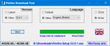 Firefox Download Tool screenshot