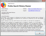 Firefox Search History Cleaner screenshot