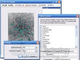 Free Fingerprint Verification SDK screenshot