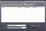 Free FLV to Audio Converter screenshot