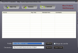 Free FLV to iPod Converter screenshot