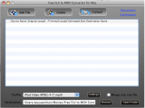 Free FLV to MOV Converter screenshot