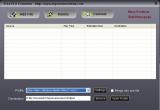 Free FLV to WMV Converter screenshot