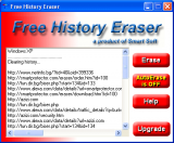 Free History Eraser screenshot