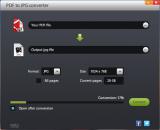 Free Jetico PDF to JPG Converter screenshot