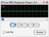 Free MIDI Ringtones Player screenshot