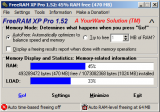 FreeRAM XP Pro screenshot