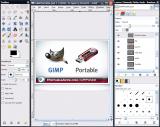 GIMP Portable screenshot