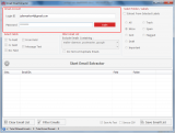 Gmail Email Extractor screenshot